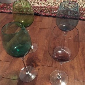 Other - Bombay Company wine glasses
